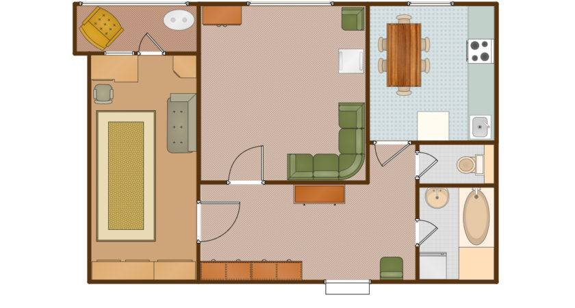 Open Floor Plan Apartment Decobizz