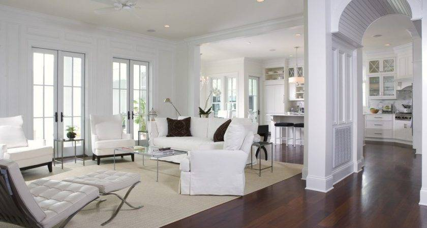 Open Floor Plan Decorating Ideas Room Traditional