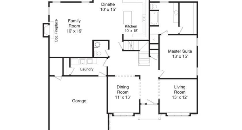 Open Floor Plan House Designs Interior Design