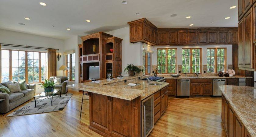 Open Plan Kitchen Dining Living Room Designs Home
