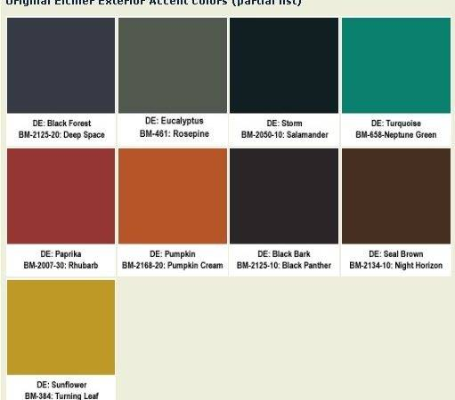 Original Eichler Paint Colors Your Ranch