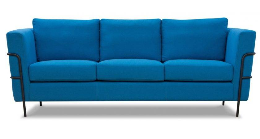 Otis Modern Seater Sofa Blue