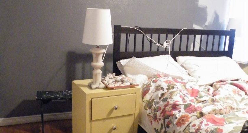 Our Gray Yellow Bedroom Date Design
