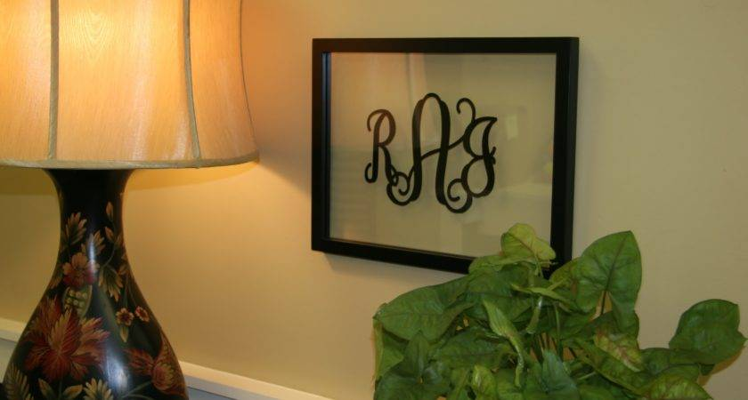 Our Obsession Vinyl Monogram Home Cor Initial