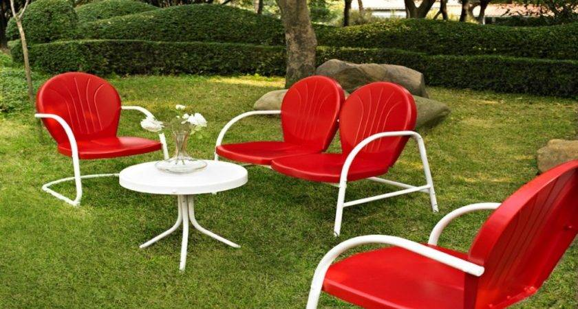 Outdoor Furniture Seating Sets Retro Deck