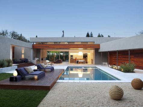 Outdoor Living Modern Pool San Francisco