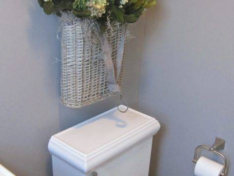 Over Your Toilet Driven Decor