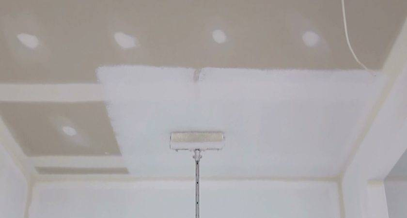 Paint Ceiling Using