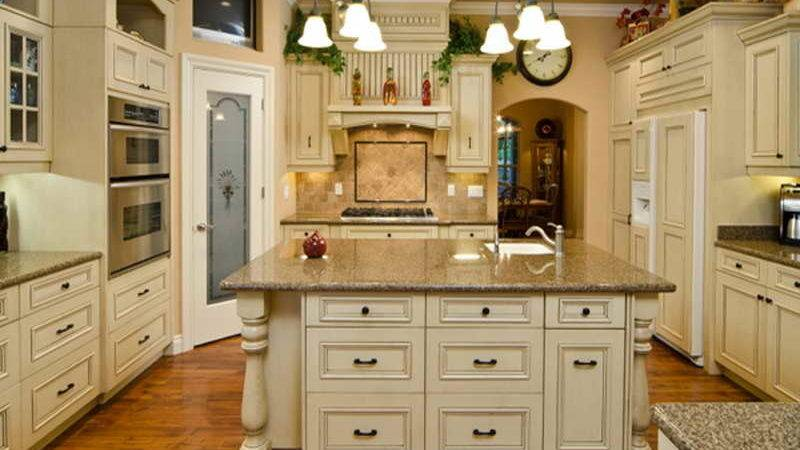 Paint Distressed White Kitchen Cabinets