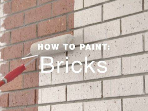 Paint Exterior Brick Walls Youtube