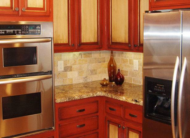 Paint Kitchen Cabinets Two Tone Finish