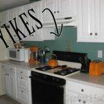 Paint Tile Backsplash Kitchen