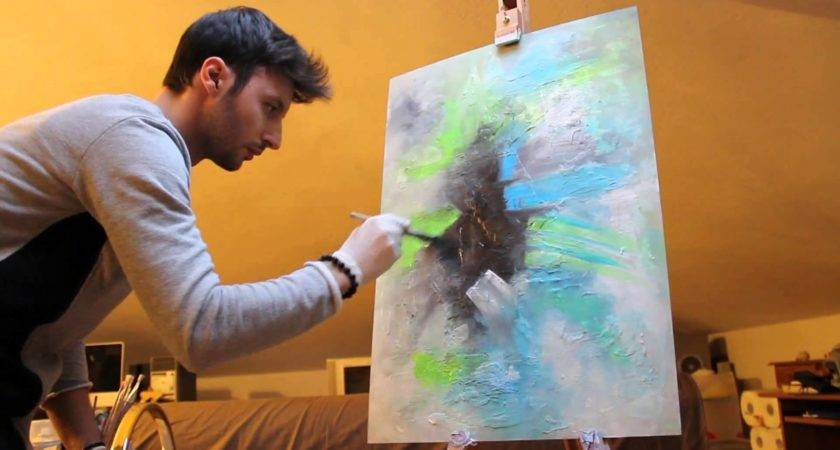 Painting Abstract Fluo Crisco Art Youtube