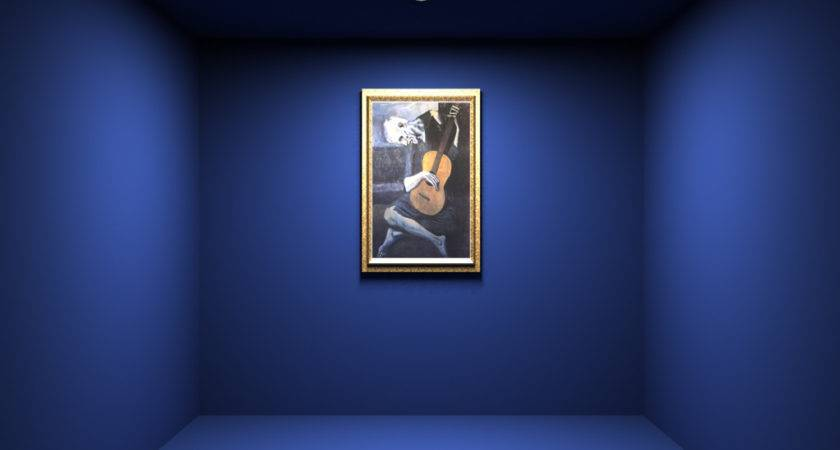 Painting Blue Room