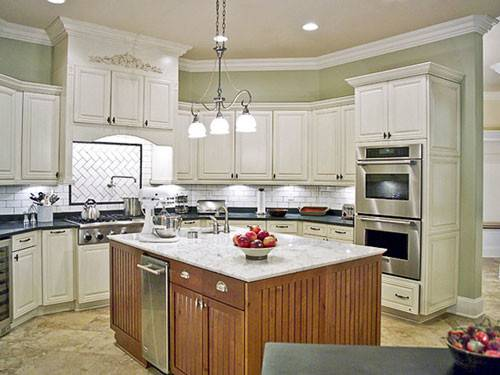 Painting Kitchen Cabinets White Casual Cottage