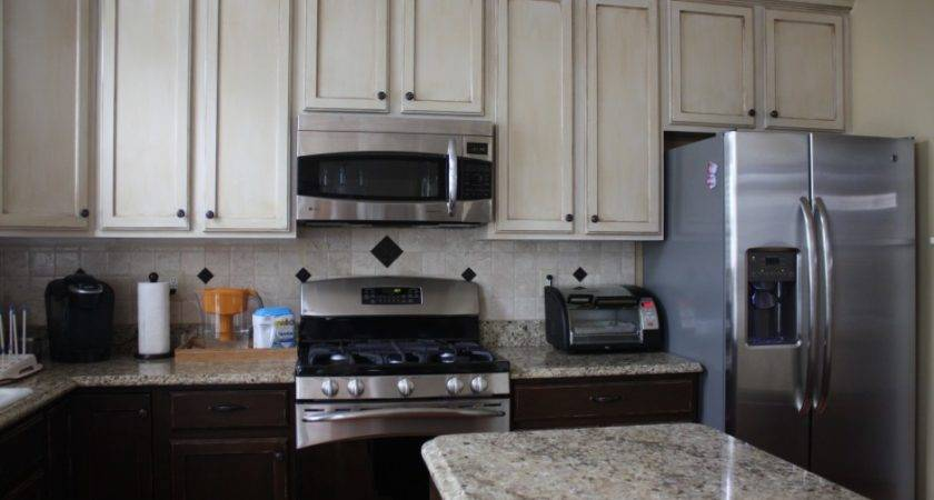 Painting Laminate Cabinets Before After Artflyz