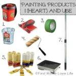 Painting Products Prep Work First Home Love Life