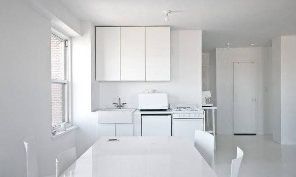 Painting Taking All White Interior Extreme