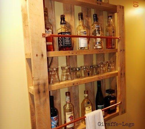 Pallet Wall Bar Marvelously Clever Diy Mini Bars