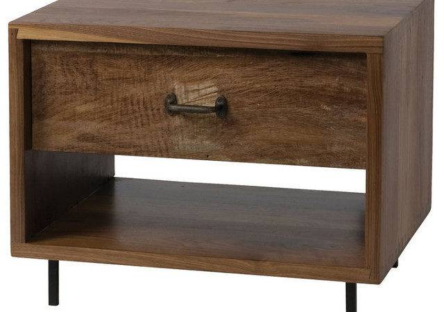 Parker Bookcase End Table Modern Nightstands