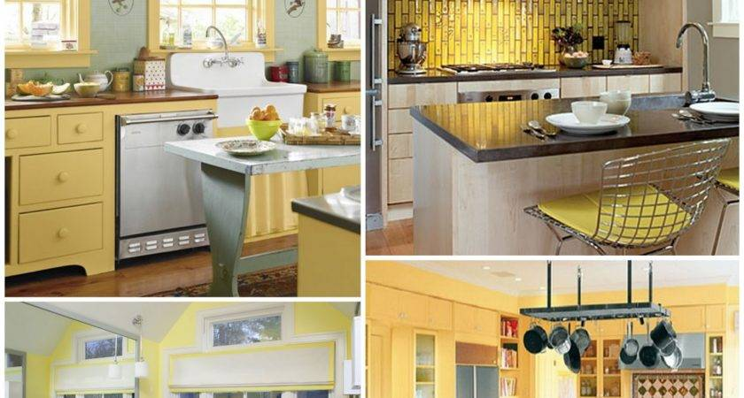 Passion Pink Pearls Becca Yellow Gray Kitchen