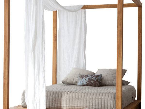 Pch Series Canopy Bed Queen Modern Beds