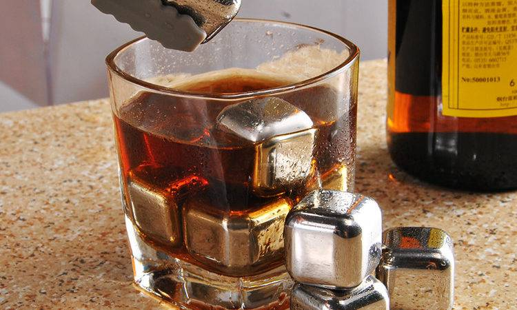 Pcs Lot Whisky Wine Beer Cooler Ice Clip Stone
