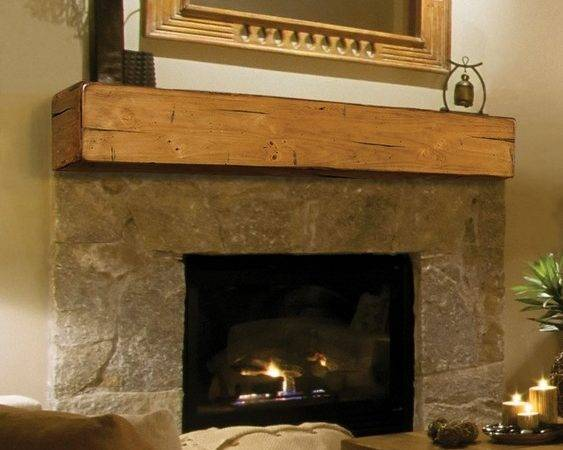 Pearl Mantels Lexington Wooden Fireplace Mantel Shelf