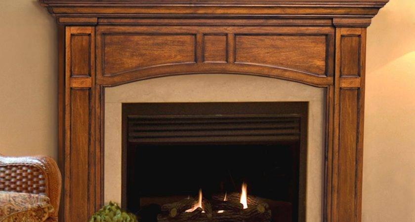 Pearl Mantels Vance Wood Fireplace Mantel Surround
