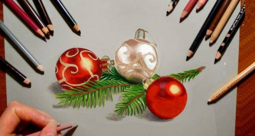 Pencil Drawings Christmas Drawing Sketch Education