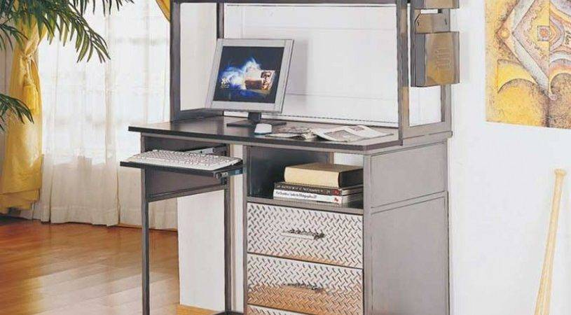 Perfect Tips Computer Desk Small Spaces Home Painting