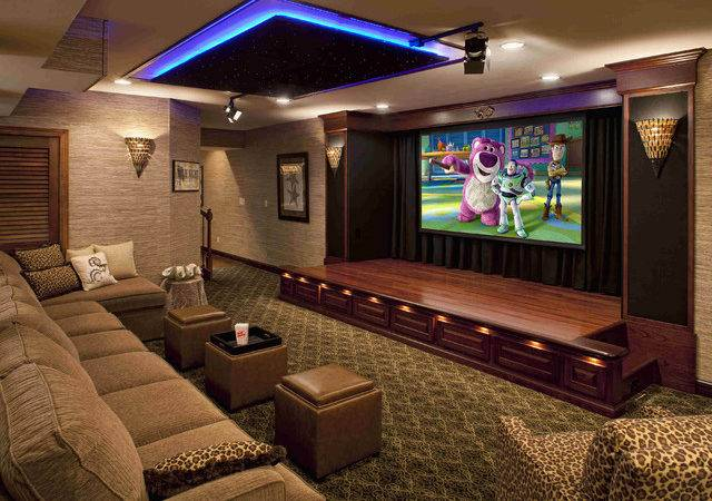Performance Theater Contemporary Home