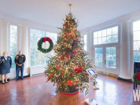 Photos White House Christmas Decorations