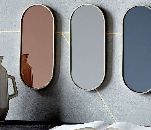 Pill Shaped Mirrors West Elm