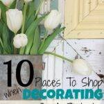Places Shop Decorating Your Home Budget