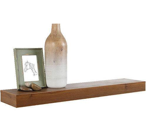 Plank Floating Wall Shelf Oak Walmart