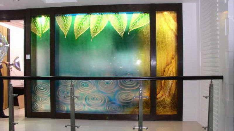 Planning Ideas Backlit Decorative Glass Wall Panels