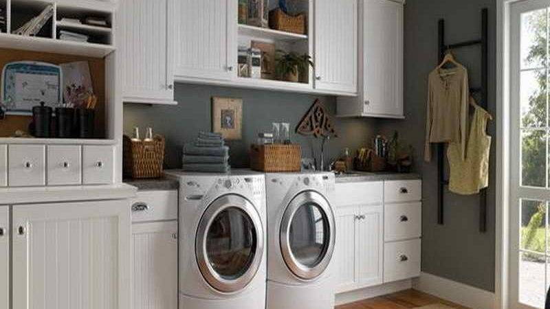 Planning Ideas Small Laundry Room Door
