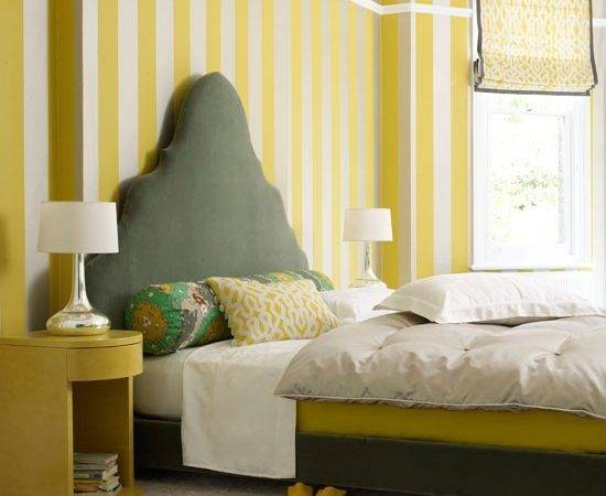 Play Pattern Proportions Bedroom Ideas