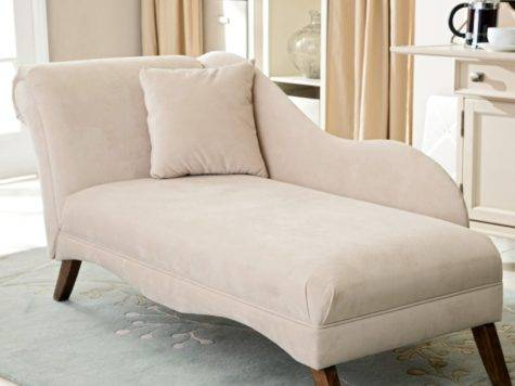 Plushemisphere Simple Collection Small Chaise
