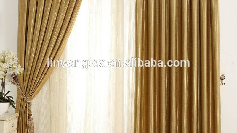 Polyester New Style Curtains Hotel Home Office