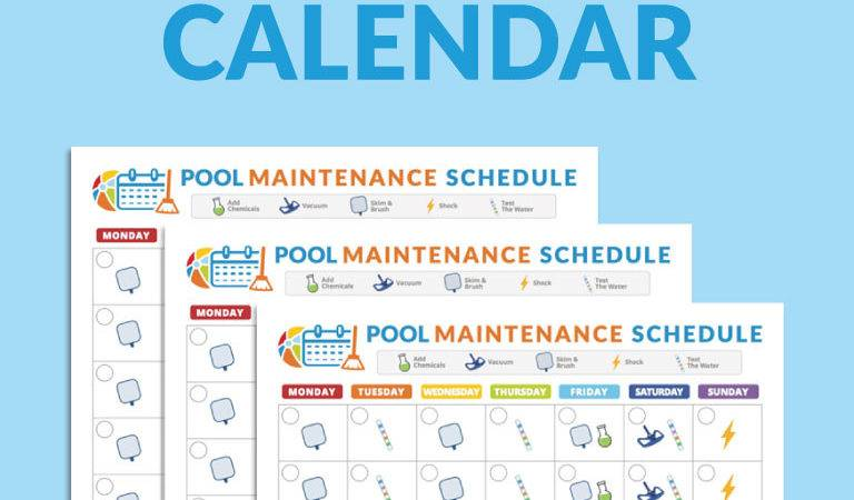 Pool Maintenance Guide Design Decoration