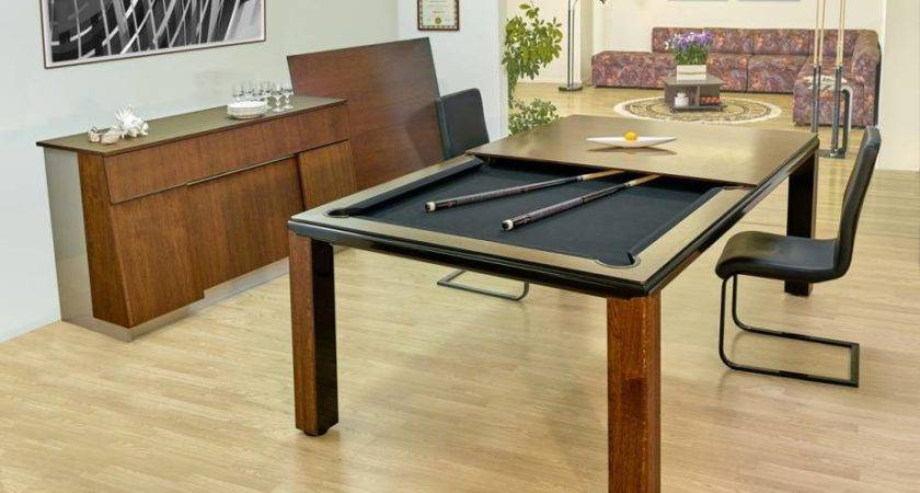 Pool Table Dining Conversion