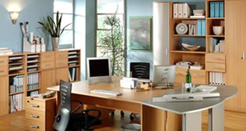 Popular Home Office Two Desks Yvotube