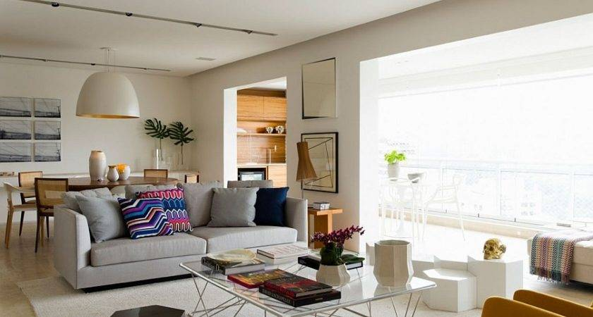 Posh Apartment Brazil Captivates Smart Accents