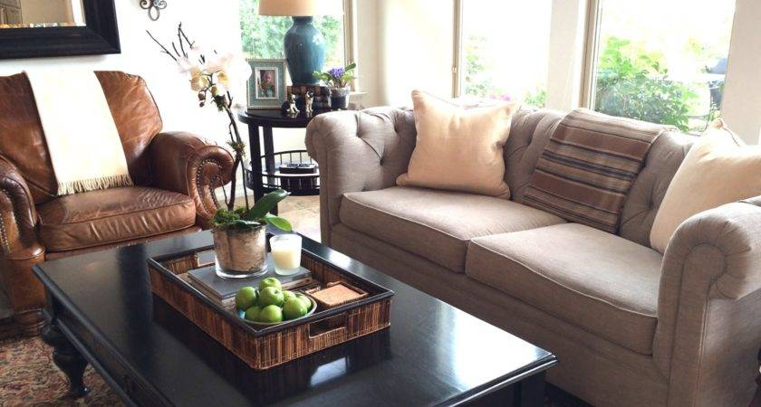 Pottery Barn Living Room Excellent Lansing Leather