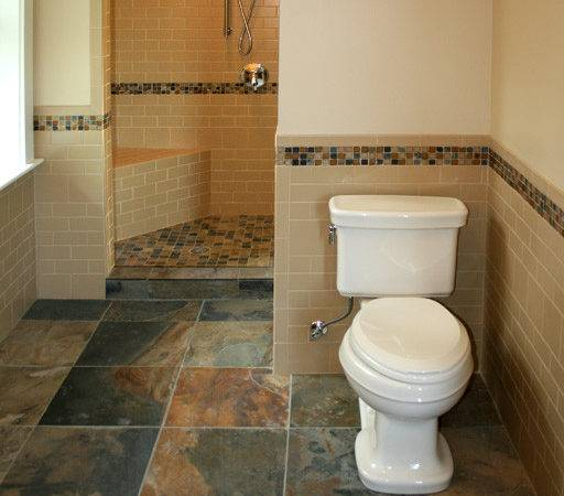Powder Room Pinterest Tile Showers Small Bathroom