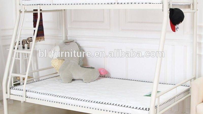 Powerful Strong Dormitory Steel Frame Bed Cheap Metal
