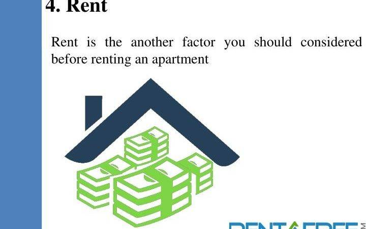 Ppt Apartments Rent Things Consider Before