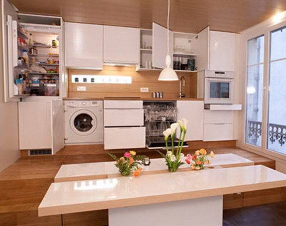 Practical Kitchen Designs Tiny Spaces Stylish Eve